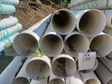Perforated drain pipe, 6