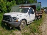 2003 Ford F350 pickup w/ dump body