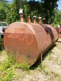 2,000 gal fuel tank