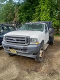 2002 Ford F550 w/ 12' dump body