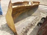 10' Hyd side dump bucket