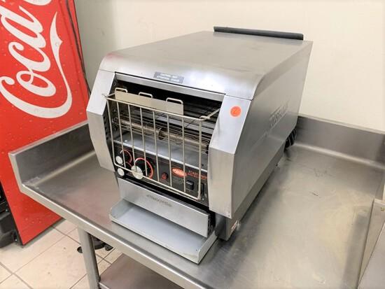 Hatco Toast-Qwik Toaster, model -TQ-800HBA, conveyor bun toaster,  serial number - 4496751404