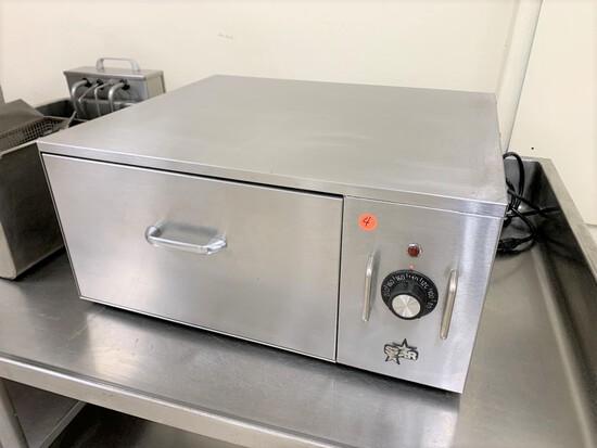 Star bun warming cabinet,  model - SST25, serial number - 0013395