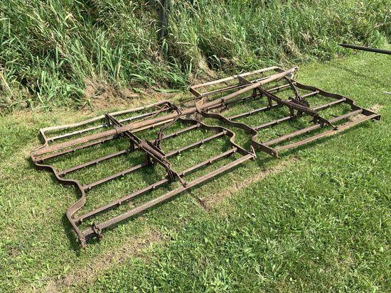 10 steel drag harrow