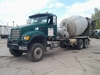 2004 MACK CV713 GRANITE 6X6  , S/N 1M2AG11C64M014381 , AS-IS,  2004MACK CV713 GRANITE REAR DISCHARGE