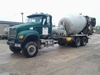 2004 MACK CV713 GRANITE 6X6  , S/N 1M2AG11C04M014375 , AS-IS,  2004MACK CV713 GRANITE REAR DISCHARGE