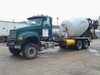 2004 MACK CV713 GRANITE 6X6  , S/N 1M2AG11C54M014372 , AS-IS,  2004MACK CV713 GRANITE REAR DISCHARGE