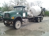 2004 MACK CV713 GRANITE 6X6  , S/N 1M2AG11CX4M014366 , AS-IS,  2004MACK CV713 GRANITE REAR DISCHARGE