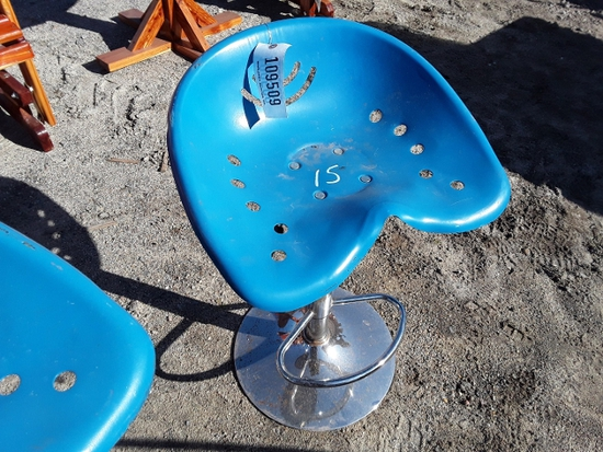 BAR STOOL  , AS-IS,  #109509