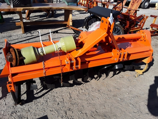 ROTARY TILLER  , AS-IS,  3 POINT HOOKUP, PTO DRIVEN,  #109510