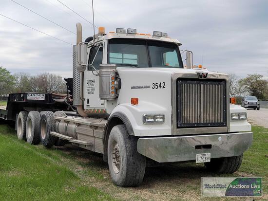 2013 Western Star Trucks 4900 FA Truck, VIN # 5KJNAEDR4DPBV6148
