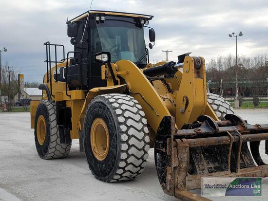 2014 CAT 950K Wheel Loader Vin# CAT0950KTR4A02101