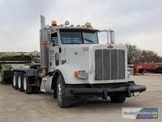2009 Peterbilt 367 Truck, VIN # 1XPTD4EX69D785319