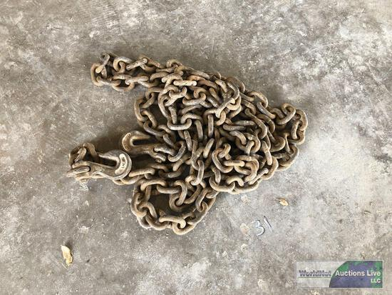 (25) 1/2IN. 20FT CHAINS