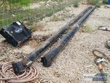 (2) 24FT USED GIN POLES