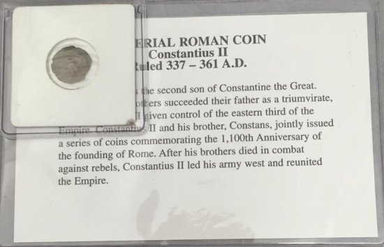 Imperial Roman Coin, 331-361 AD