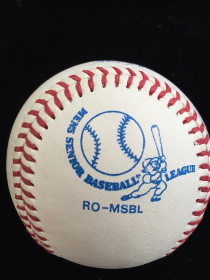 Rawlings Autographed Baseball by Rich Nye Chicago Cubs #32