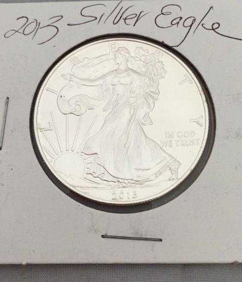 2013 Silver Eagle 1oz, .999 Coin