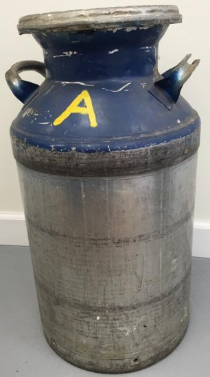 Oversized Milk Can with Lid