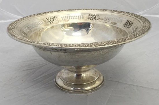 Large Sterling Silver Bowl