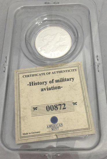 History OF Military Aviation 00872 Flying Fortress B-17, $10