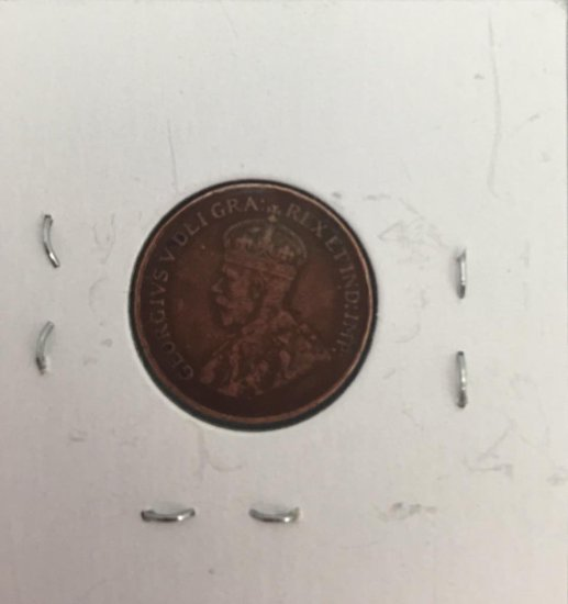 Canadian Cent 1923