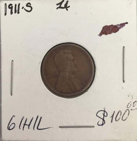 US Penny 1911-S