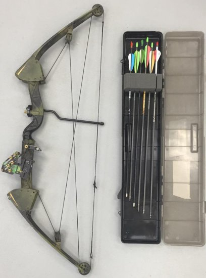 Crossbow and Arrows Hunting Bow