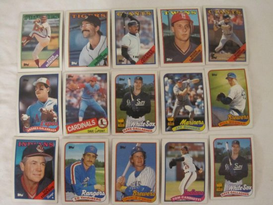 120 Topps Baseball Cards From Auctions Online Proxibid