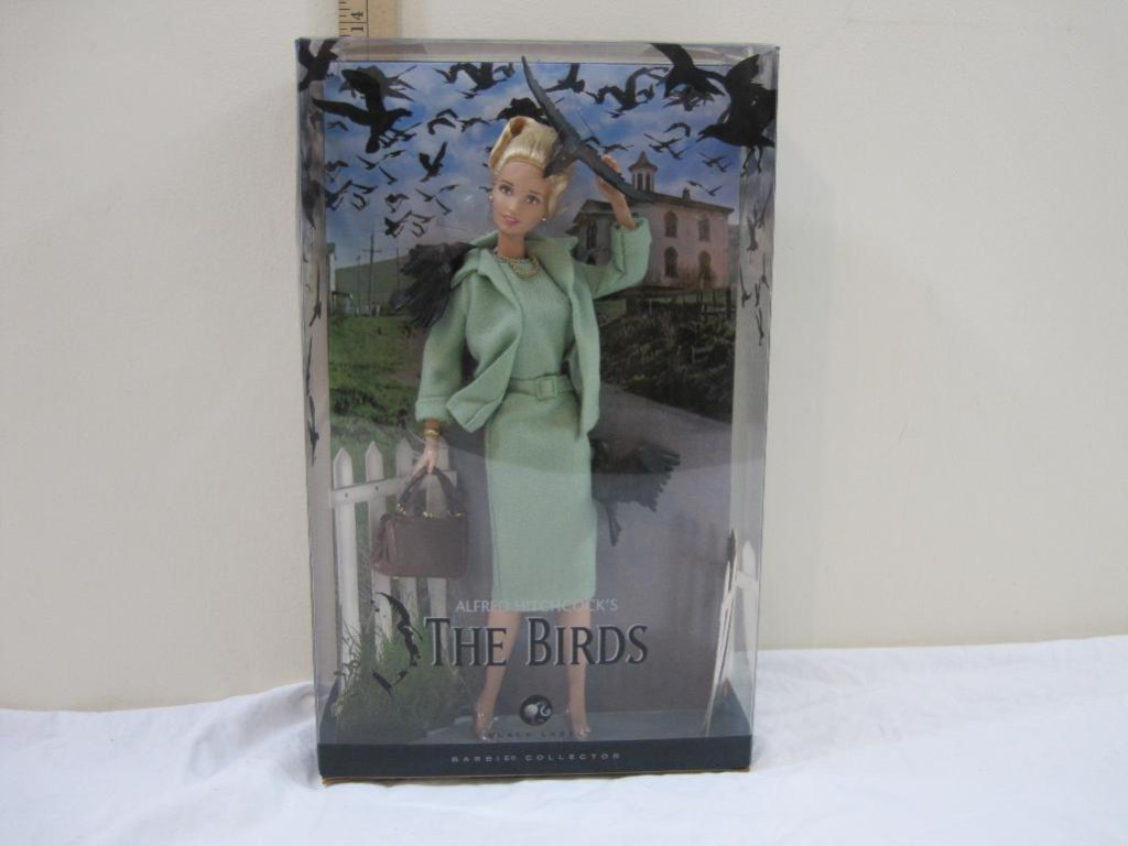 Alfred Hitchcock's The Birds Barbie Doll, Barbie Collector Black Label, 2008 Barbie