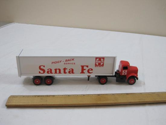 Winross Santa Fe Truck and Piggy-Back Service Trailer