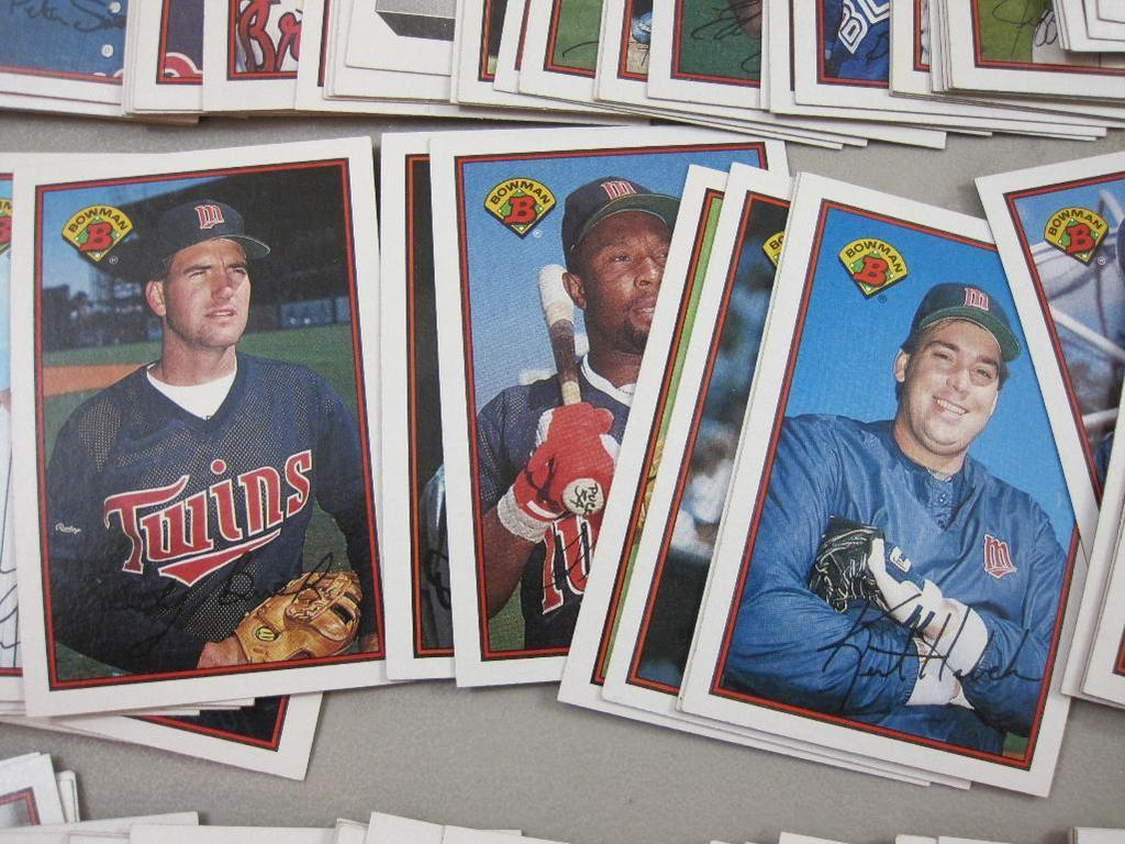 Lot 1989 Bowman Complete Baseball Card Set With Ken Griffey