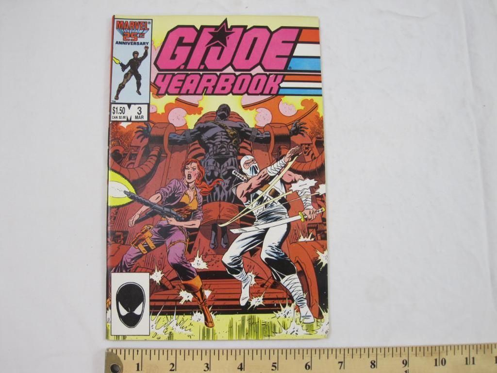 GI Joe Yearbook Marvel 25th Anniversary Comic Book 3 March 1987
