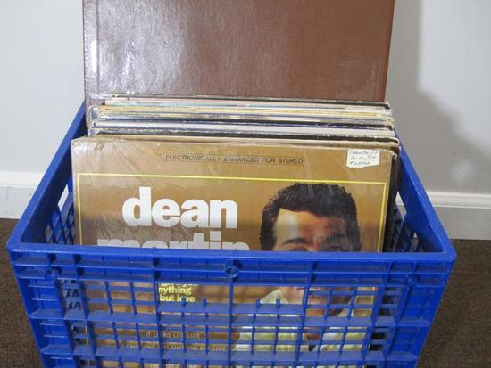 Lot of 25+ vinyl records including Barry Manilow, Dean Martin, Nils Lofgren and more - does not come