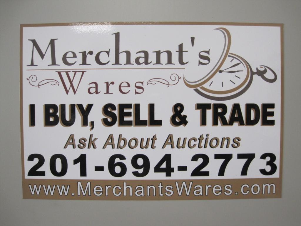 Feb 20th Gen Merchandise Pick-Up Auction