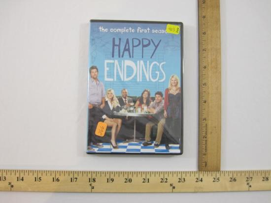 The Complete First Season of Happy Endings 2-DVD Set, Sealed, 2011 Sony Pictures, 4 oz