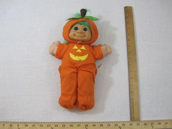 RUSS Troll Kidz Punkin Halloween Doll, 11 oz