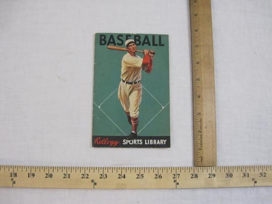 Baseball Kellogg Sports Library, 1934 Kellogg Company, 2 oz