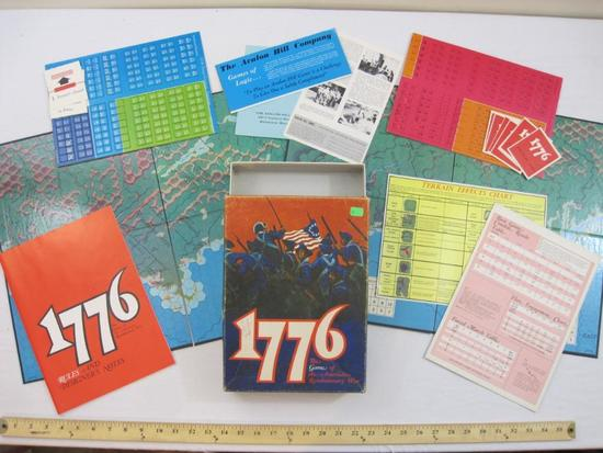 1776 The Game of The American Revolutionary War, The Avalon Hill Company 1974, 2 lbs 11 oz