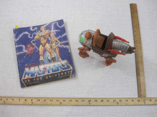 Stridor Battle Horse He-Man Masters of the Universe (missing tail) and MOTU Mini Card Collector's
