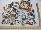 Lot of Assorted GI Joe Action Figures, Weapons, and Parts, see pictures for included parts and
