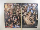 Two Wrestling Posters featuring Smack Down Live and John Cena and more, posters may be rolled and