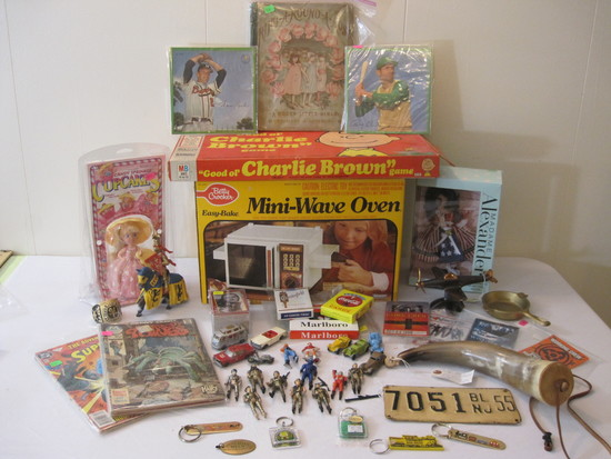 Comic Books, Vintage Toys and More