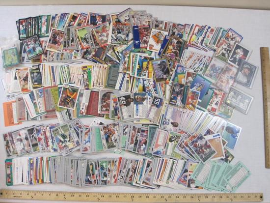 Lot of Assorted Sports Trading Cards from various brands and years including NBA, NFL and MLB, 3 lbs