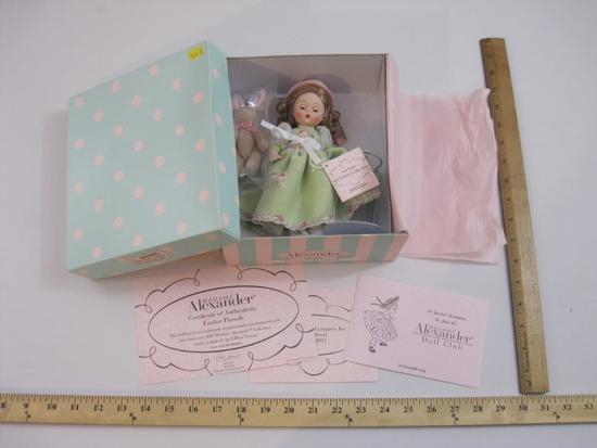 New in Box Easter Parade Madame Alexander Doll, item 47615, 14 oz