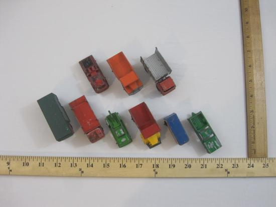 Lot of Vintage Diecast Cars from Tootsie, Lesney and Corgi including US Mail, fire truck, dump
