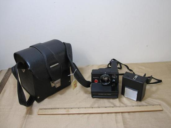Pronto! RF Polaroid Land Camera with Carrying Case and ITT MagicFlash