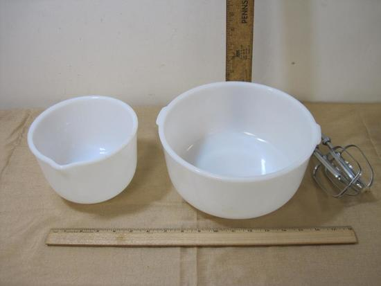Glass Bake Bowls for Sunbeam Mixer
