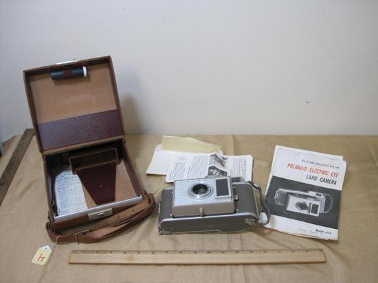 Polaroid J33 Electric Eye Land Camera with Carry Case and Instructions