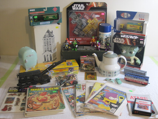 Vintage Video Games, Toys, Trucks, Sports and more